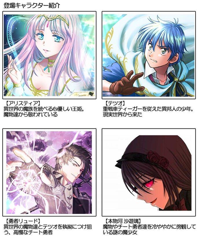 小さな希望を紡ぐ姫と鋼鉄の王虎を駆る勇者主要キャラクター紹介